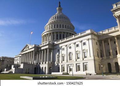 Washington DC , Capitol Building - detail, US