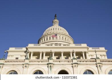 Washington DC , Capitol - detail, US