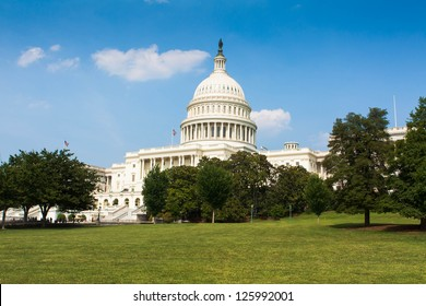Washington DC Capitol from rear