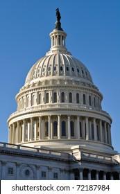 Washington DC Capitol of the United States of America