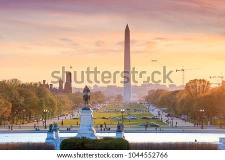 Washington DC city view