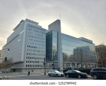 WASHINGTON, DC - DECEMBER 8, 2018: Headquarters of The World Bank.