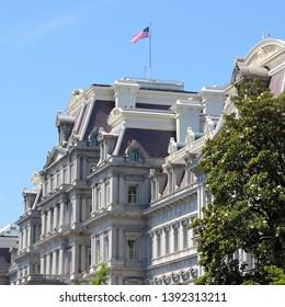Washington D.C. Eisenhower Executive Office Building.