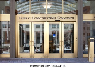 WASHINGTON, DC - FEBRUARY 15: U.S. Federal Communications Commission Headquarters in Washington, DC on February 15, 2015.