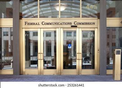 WASHINGTON, DC - FEBRUARY 15: U.S. Federal Communications Commission Headquarters in Washington, DC on February 15, 2015.