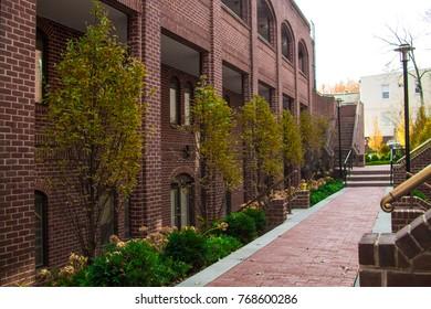 Washington DC Georgetown architectural elements