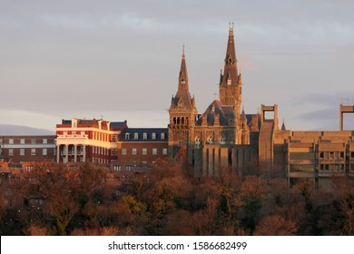 WASHINGTON DC Georgetown University. Georgetown neighborhood.