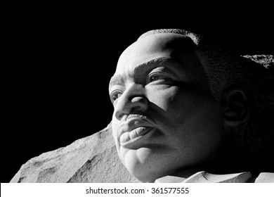 WASHINGTON DC JANUARY 11 2015. Martin Luther King, JR. Memorial. Editorial use only