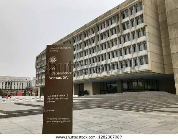 Washington Dc January 12 2019 Department Stock Photo Edit Now