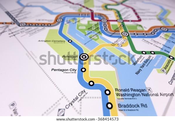 Washington Dc January 15 2016 Interactive Stock Photo (Edit ...