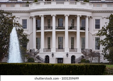 WASHINGTON, DC - JUL 13: The White House in Washington DC on July 13 2006. This one of the most recognizable buildings has been the official residence of every President of the USA since 1800.