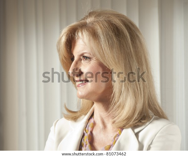 WASHINGTON, DC – JULY 15: Arianna Huffington, president and editor-in-chief of the AOL Huffington Post Media Group, poses for a portrait at the National Press Club, July 15, 2011 in Washington, DC