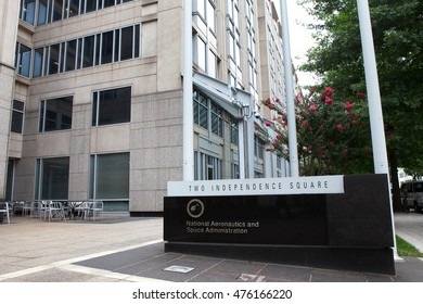WASHINGTON, DC - JULY 17: National Aeronautics and Space Administration Headquarters in Washington, DC on July 17, 2015.