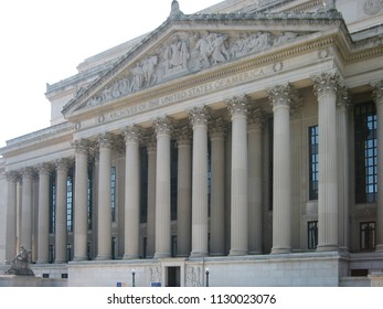 Washington DC - July 5 2006: The National Archives located at National Mall.