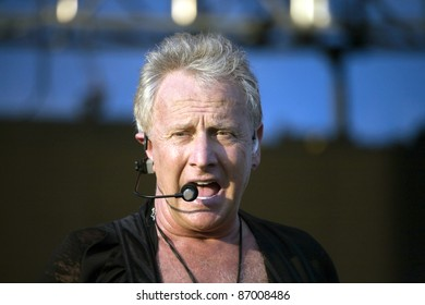 WASHINGTON, DC - JULY 9:  Graham Russell of the band Air Supply performs live on July 9, 2011 in Washington, DC.