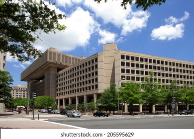WASHINGTON, DC - JUNE 1: J. Edgar Hoover F.B.I. Building in downtown Washington, DC on June 1, 2014.