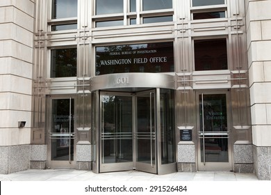WASHINGTON, DC - JUNE 5: The Federal Bureau of Investigation Washington Field Office in Washington, DC on June 5, 2015.