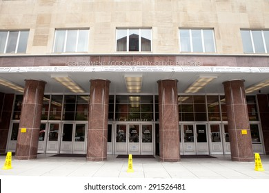 WASHINGTON, DC - JUNE 5: Government Accountability Office (GAO) in Washington, DC on June 5, 2015. The GAO is known as the, Congressional Watchdog and investigates how federal tax dollars are spent.