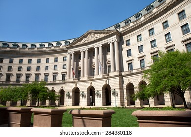 WASHINGTON, DC - MAY 4: United States Environmental Protection Agency Headquarters in Washington, DC on May 4, 2015. The EPA's mission is to protect human health and the environment.