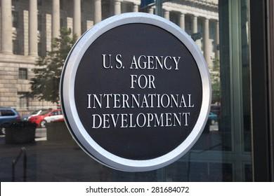 WASHINGTON, DC - MAY 4: U.S. Agency for International Development Headquarters in Washington, DC on May 4, 2015.