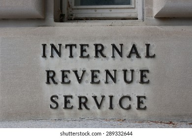 WASHINGTON, D.C. -May 5 2015: The Internal Revenue Service is the agency responsible for collecting taxes in the United States