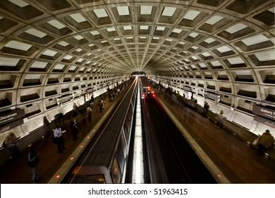 Washington DC Metro Tunnel