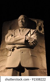 WASHINGTON, DC - NOVEMBER 11: The Martin Luther King Jr. National Memorial, shown November 11, 2011, was dedicated on October 16, 2011 and is located on the National Mall in Washington, DC.