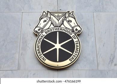 WASHINGTON, DC - NOVEMBER 12: International Brotherhood of Teamsters Headquarters in Washington, DC on November 12, 2015.