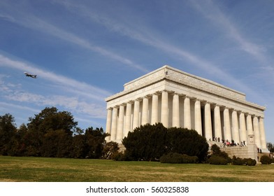 Washington, DC - November 13, 2011: Lincoln memorial, Washington DC, USA.