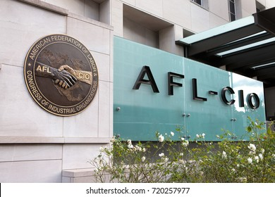 WASHINGTON, DC - NOVEMBER 26: The American Federation of Labor and Congress of Industrial Organizations in Washington, DC on November 26, 2016.