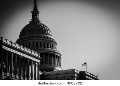 Washington, DC / November 28, 2017: US Capitol