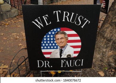 Washington, DC – October 24, 2020: Dr. Anthony Fauci world expert on infectious diseases who has battled with Donald Trump over an effective way to battle the Covid-19 pandemic.