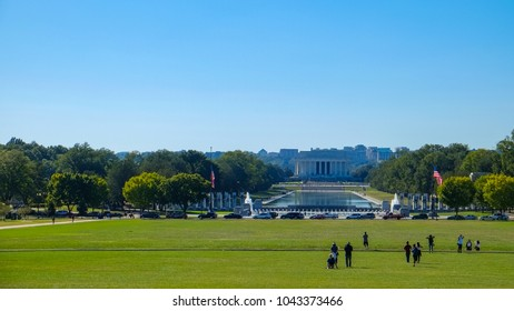 Washington d.c October 3,2017 - The Lincoln Memorial, Washington, DC
