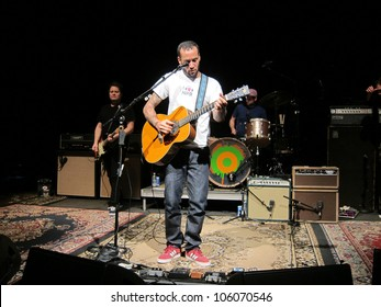 WASHINGTON, D.C. - OCTOBER 4: Ben Harper performs at the 9:30 Club in Washington D.C. on October 4, 2011.