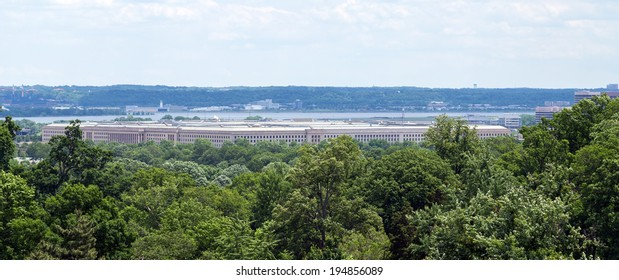 Washington, DC - The Pentagon building, headquarters for the United States Department of Defense
