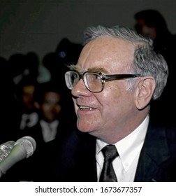 Washington DC. Sept. 4 1991 Warren Buffet testifies beforeThe House subcommittee on the Salomon brothers scandal in which he took over as chairman of the board of the company to guide it