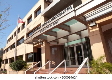 WASHINGTON, DC - SEPTEMBER 10: Democratic National Committee Headquarters in Washington, DC on September 10, 2016. The DNC is the formal governing body for the United States Democratic Party.