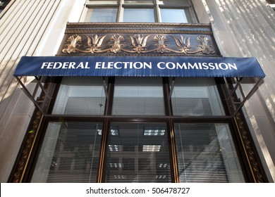 WASHINGTON, DC - SEPTEMBER 10: Federal Election Commission (FEC) in Washington, DC on September 10, 2016. The mission of the FEC is to administer and enforce the Federal Election Campaign Act (FECA).