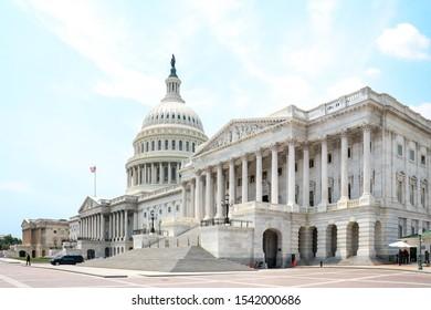 Washington DC, Washington DC / United States of America / 06 19 2018: United States Capitol