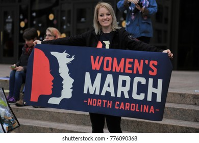 WASHINGTON, DC, UNITED STATES OF AMERICA - JANUARY 21, 2017: Women's March to advocate legislation and policies regarding women's rights, immigration reform, healthcare reform, reproductive rights, L