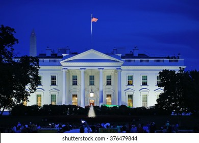 Washington DC, United States - August 2015: The White House