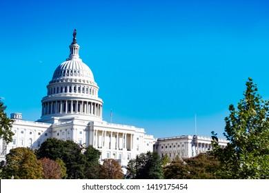 Washington, DC / United States - October 15, 2017: Capital Building