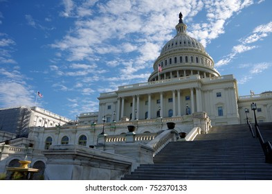 Washington DC, United States - October 31, 2017: United States Capitol Building