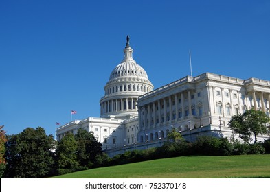 Washington DC, United States - October 31, 2017: United States Capitol Building