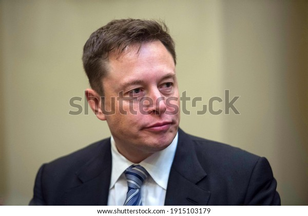 Washington DC, United States, October 2020,Tesla CEO and space X founder Elon Musk