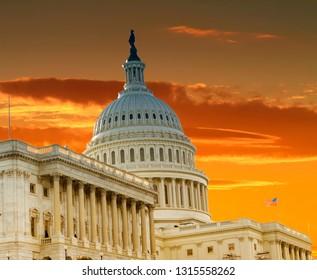 Sammeln & Seltenes Vtg U.s.capitol Gebäude Washington D.c. Transport