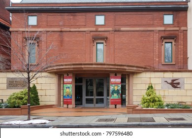 WASHINGTON DC / US - DECEMBER 10 2013: The Phillips Collection is an art museum founded by Duncan Phillips and Marjorie Acker Phillips in 1921 located in the Dupont Circle of Washington, D.C
