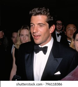 Washington DC. USA, 25th April, 1998 John F. Kennedy Jr. arrives at the Washington Hilton Hotel to attend the annual White House Correspondents Dinner.