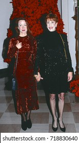 Washington, DC. USA, 6th December, 1991 Carol Burnett and her daughter Erin Hamilton at the State Department for the Kennedy Center Honors reception.