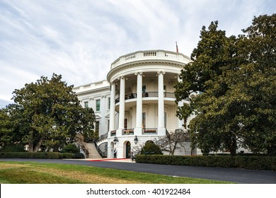 WASHINGTON D.C., USA - Apr 01, 2016: The White House Washington DC, United States